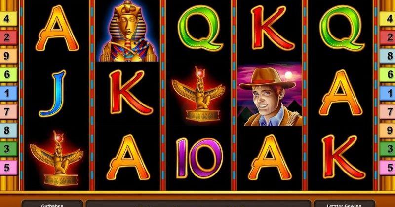 Spela på Book of Ra Online slots från Novomatic  spelautomat gratis nu   Casino Sverige