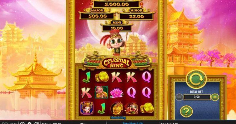 Spela på Celestial King Spelrecension från Bally spelautomat gratis nu   Casino Sverige