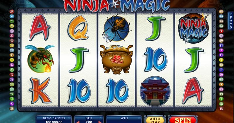 Spela på Ninja Magic online slot från Microgaming spelautomat gratis nu | Casino Sverige