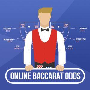 Online Baccarat odds, husets fördel