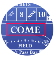 Come dont come bets - online craps