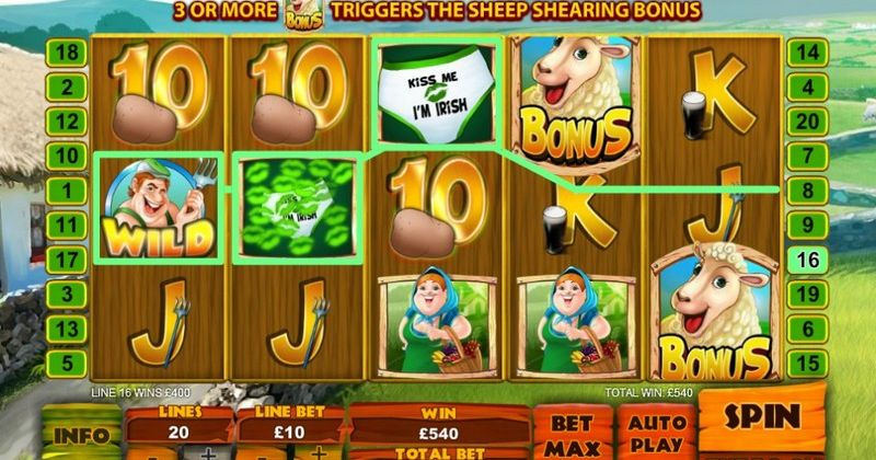 Spela på Spud Oreilly's Crops of Gold onlineslot från Playtech spelautomat gratis nu | Casino Sverige