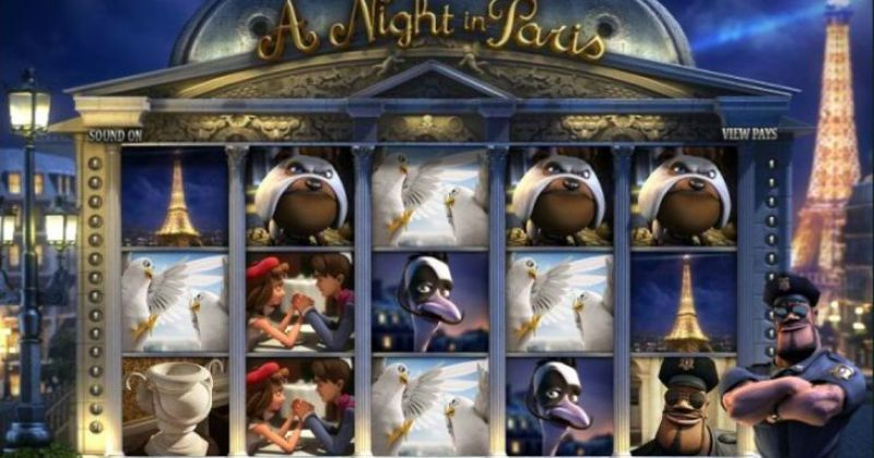 Spela på A Night in Paris slot online från Betsoft spelautomat gratis nu | Casino Sverige