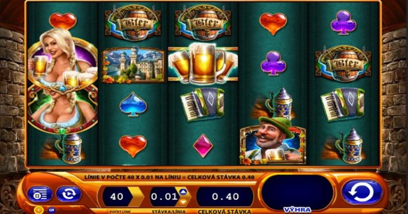 Spela på Bier Haus från WMS spelautomat gratis nu   Casino Sverige