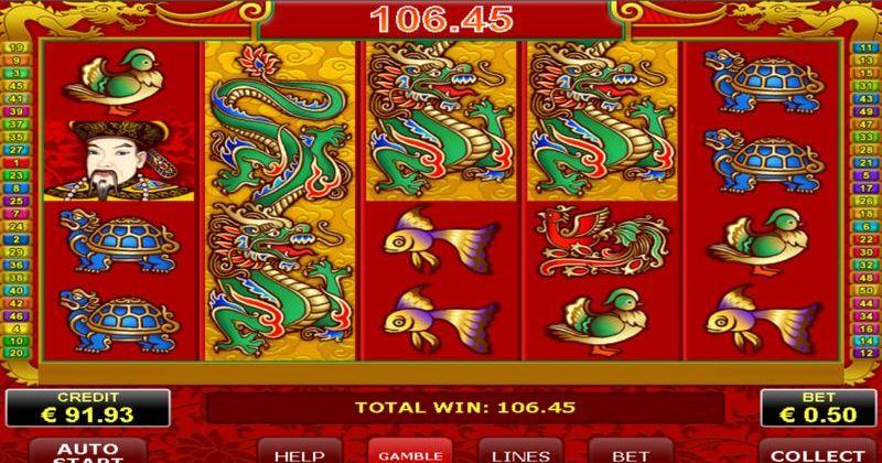 Spela på Dragons Pearl online slot från Amatic spelautomat gratis nu | Casino Sverige