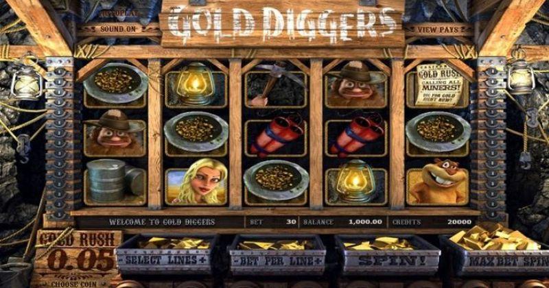 Spela på Gold Diggers slot online från Betsoft spelautomat gratis nu | Casino Sverige