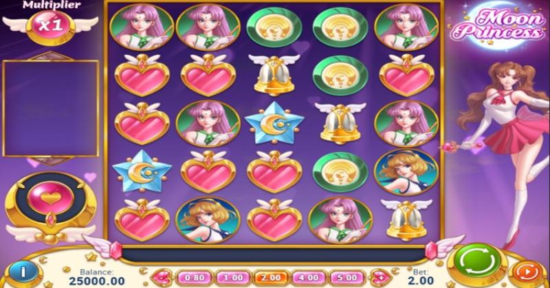 Spela på Moon princess online från Play'n GO spelautomat gratis nu   Casino Sverige