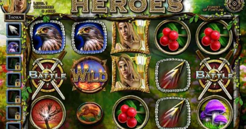 Spela på Nordic Heroes Slots online spel från IGT spelautomat gratis nu | Casino Sverige