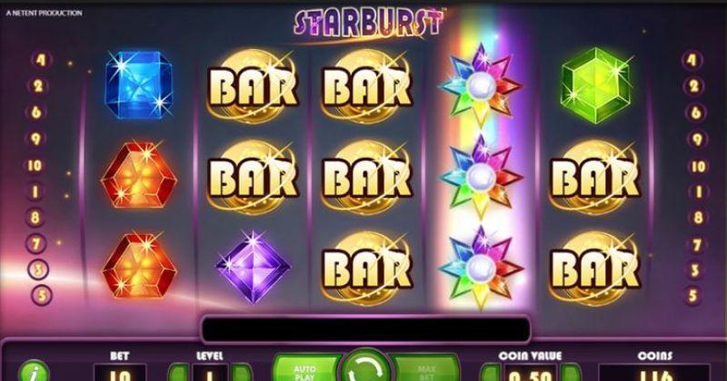 Spela på Starburst online slot från NetEnt spelautomat gratis nu   Casino Sverige