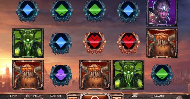 Spela på Super Heroes online slot från Yggdrasil spelautomat gratis nu   Casino Sverige