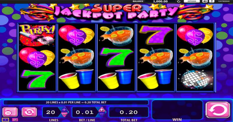Spela på Super Jackpot Party från WMS spelautomat gratis nu   Casino Sverige