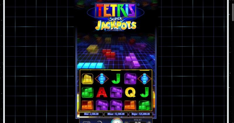 Spela på Tetris Super Jackpots från WMS spelautomat gratis nu   Casino Sverige