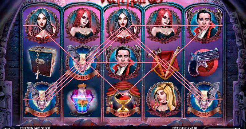 Spela på Vampires slot från Amatic  spelautomat gratis nu | Casino Sverige