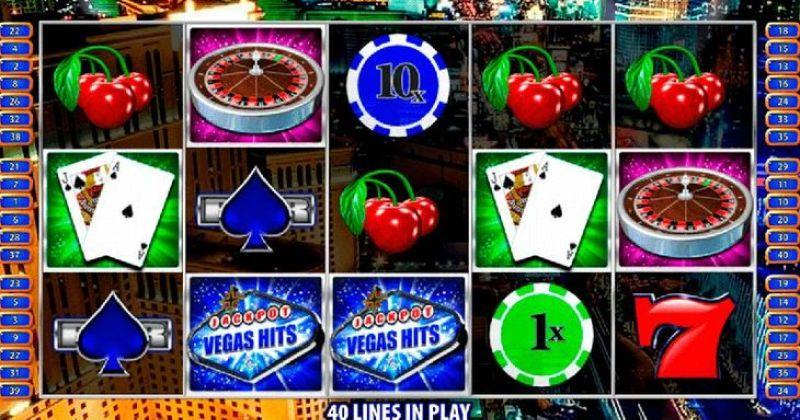 Spela på Vegas Hits online slot från Bally spelautomat gratis nu   Casino Sverige