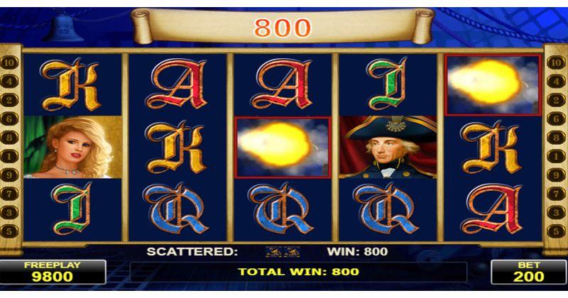 Spela på Admiral Nelson spelautomat från Amatic spelautomat gratis nu   Casino Sverige