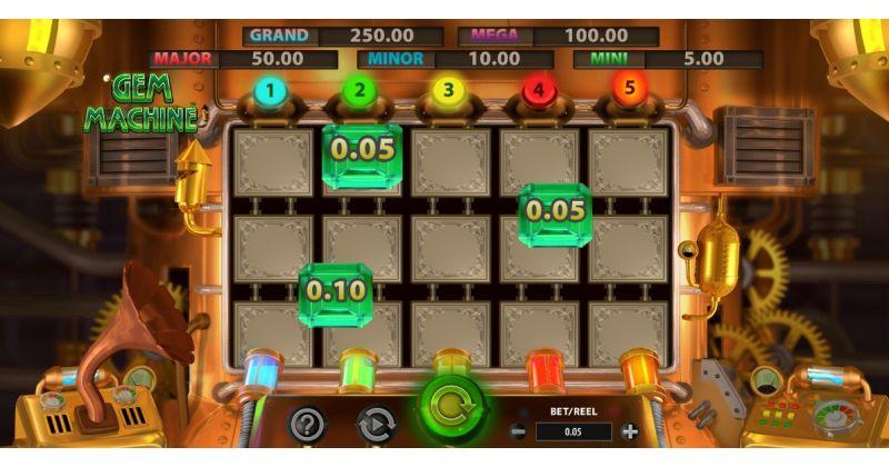 Spela på Gem Machine onlineslots från Bally spelautomat gratis nu | Casino Sverige