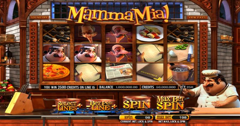 Spela på Mamma mia slot online från Betsoft  spelautomat gratis nu   Casino Sverige