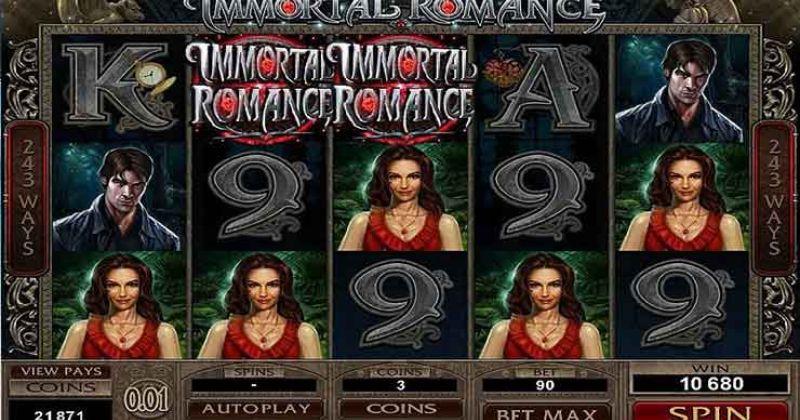 Spela på Immortal Romance onlineslot från Microgaming spelautomat gratis nu | Casino Sverige
