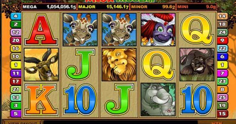 Spela på Mega Moolah onlineslot från Microgaming spelautomat gratis nu   Casino Sverige