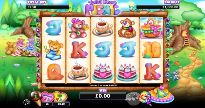 Spela på Teddy bears picnic slot online från Nextgen spelautomat gratis nu | Casino Sverige